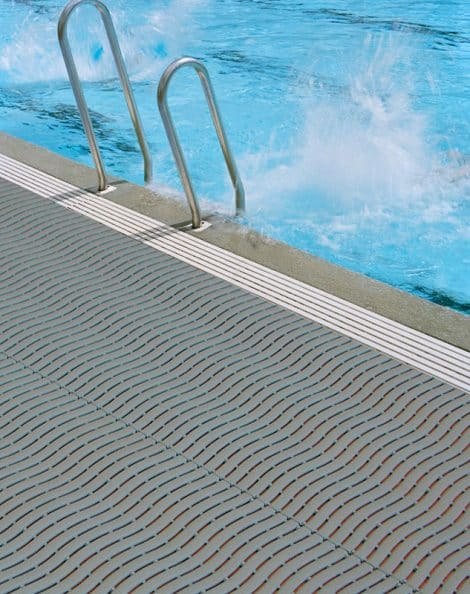 Aqua-Safe Pool Side Matting Installation