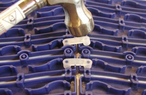 Aqua-Safe Interlocking Detailnstallation