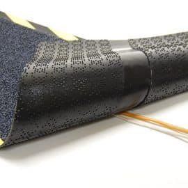 Cable-Mat Fabric In Use