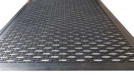 Clean-Scrape Rubber Entrance Mat Full Surface Detail