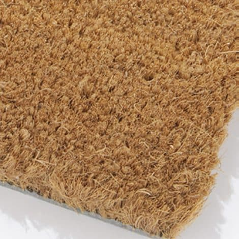 Coir Matting Corner Surface Detail