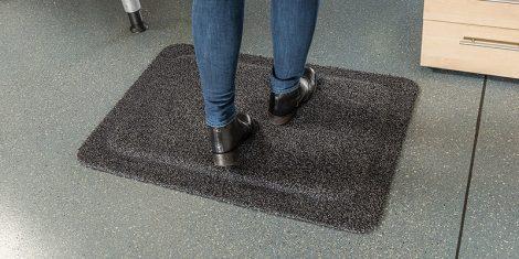 Comfort-Carpet Anti-fatigue Mat In Use
