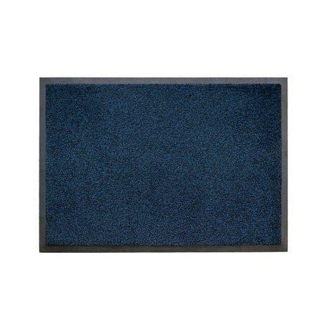 Black-Blue Entrance Mat
