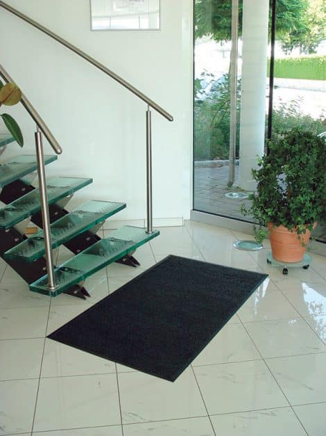 Dirt Buster Premium Entrance Mat - In use