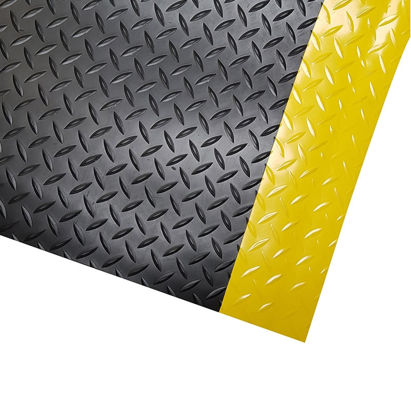 Dura-Tred Anti-Fatigue Mat - Surface Corner Detail