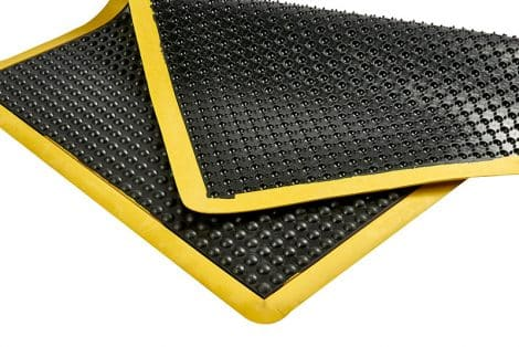 Ergo-Tred Anti-Fatigue Mat Back Corner Detail