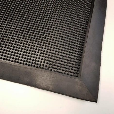 Foot Bath Mat with Black Edges