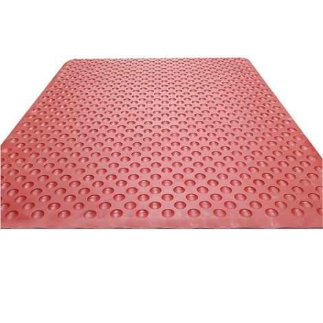 Hygi-Mat Catering Anti-Fatigue Mat - Terracotta - Full Back Detail