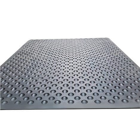 Hygi-Mat Catering Anti-Fatigue Mat - Black - Full Back Detail