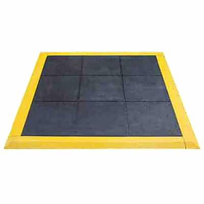 Interlocking Yellow Ramped Edge with Solid Top Link-Tile