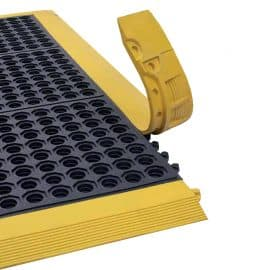 Interlocking Yellow Ramped Edge with Open Top Link-Tile