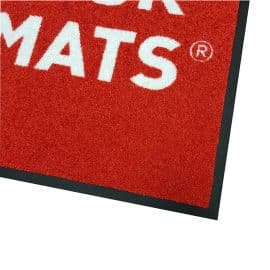 Logo Mat - Surface Corner Detail