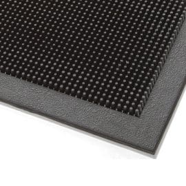Maxi-Guard Rubber Finger Tip Entrance Mat Corner Detail