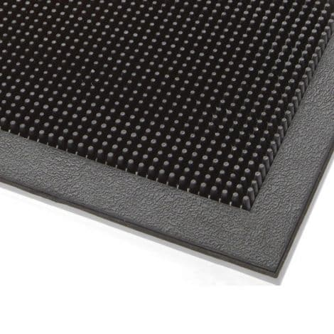 Maxi-Guard Rubber Finger Tip Entrance Mat Corner Detail