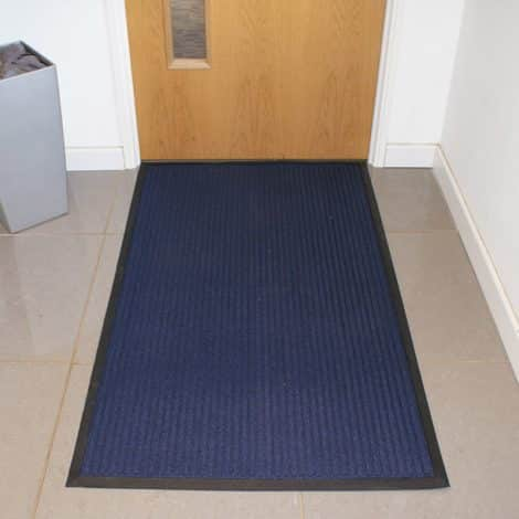 Poly-Rib Premium Entrance Mat In Use