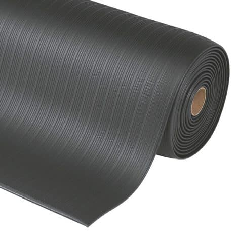 Soft-Step Roll - Foam Anti-Fatigue Mat - Black