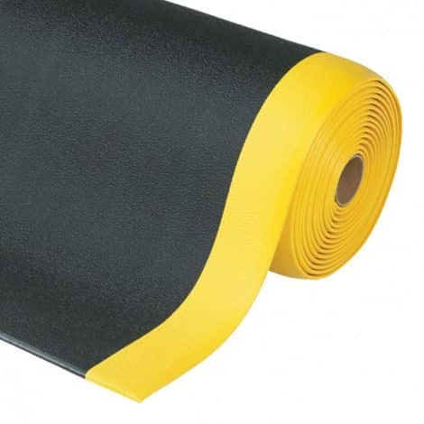 Soft-Step Anti-Static Matting Roll Yellow Edge