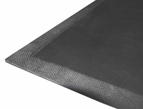 Sticky Step Rubber Mat Corner Detail