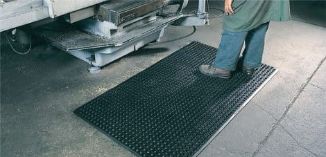 Ulti-Mat Rubber Mat In Use