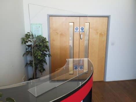 Clear Acrylic Hygienic Screen