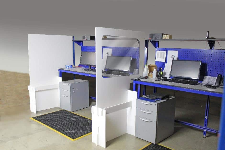 Workstation Divider Work Well Mats Stay Safe Stop The Virus