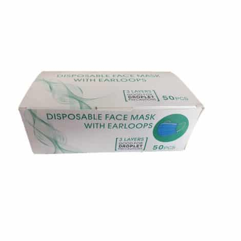 Box of Disposable Face Masks